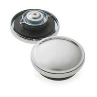 Bailey 03-0027-6 Gas Cap Set Pre-81 Big Twin & Sportster Models Chrome