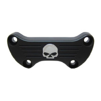Bailey 03-0107SKBC Handlebar Top Clamp Skull BT,XL'74up