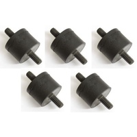 Bailey 16-0020 Oil Tank Rubber Mount Big Twin 65-86 Sportster 67-78 Oem 62563-65 (5 Pack)