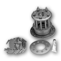 Bailey 17-0100AL Clutch Hub 5 Stud With Long Rollers Big Twin Shovelhead 41-e84