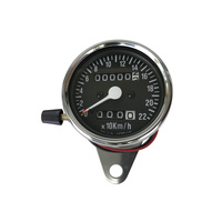 Bailey 21-6817 Speedo Mini KPH/Trip Meter 21 12mm Speed o Cable Req'd