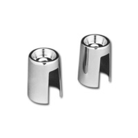 Bailey 23-0294 Upper Shock Stud Covers Big Twin 58-86 4 Speed with Swing Arm & XL 65-74 (Pair)
