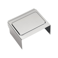 Bailey 25-0006 Battery Side Cover Chrome FXD'97-05