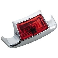 Bailey 51-0123R Rear Fender Tip Light  Red FL 80-up
