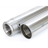 Bailey BAI-C23-0183 39mm Fork Tubes Hard Chrome for Narrow Glide Front End 04up as Stock Oversize (Pair)