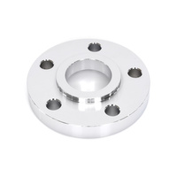 """Bailey BAI-D26-0138C-S063 5/8"""" Pulley Spacer Chrome w/Locating Lip for H-D 00up"""