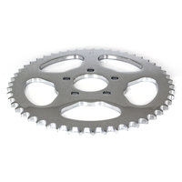Baileys D26-0147-51 Rear Sprocket Big TwinXL'00up 51T Chrome Flat Sprocket (Req's Spacer)