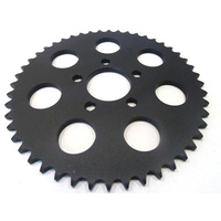 Bailey D26-0147MB-51 Rear Sprocket Big TwinXL'00up 51T Black Flat Sprocket (Req's Spacer)
