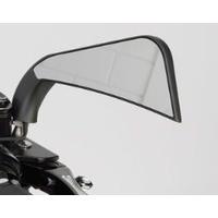Bailey M60-6356BLED Sickle Slim Mirror Avenger Style Black w/L.E.D Marker Light
