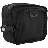 Burly Brand BB15-1012B Handlebar Bag Black Cordura