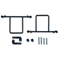 Burly Brand BB15-1051 Saddlebag Bracket Kit for Dyna 99-Up