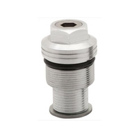 Burly Brand BB28-3000 Preload Adjuster 39mm Silver
