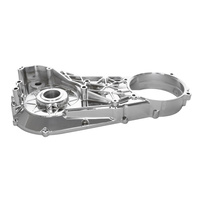 Biker's Choice BC-48-8709 Inner Primary Cover Chrome for Softail 94-06