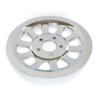 Biker's Choice BC-49-0674 Rear Pulley Cover Chrome for Dyna 07-17 w/66 Teeth Rear Pulley