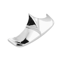 Biker's Choice BC-49-2913 Front V-Type Style Fender Tip Chrome for FL'49-86 & FL'59-66