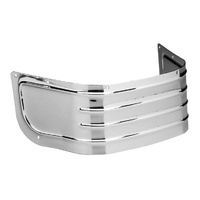 Biker's Choice BC-49-3399 Lower Front Ribbed Fender Trim Chrome for FLH'80-13& FLST'86-08
