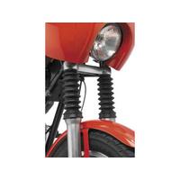 Biker's Choice BC-66-6760 39mm Rubber Fork Boot Gaiters Black (Pair)