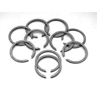 Bender Cycle BCM-2255 Exhaust Pipe Retaining Ring Big Twin'84up & XL'86up (10 Pack)