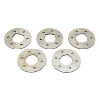 "Bender Cycle BCM-7090 Crankshaft Gear End Thrust Washers Big Twin'36-86 4 Speed 0.074"" (Pk5)"