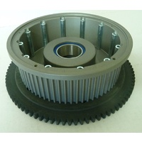 "BDL ""Clutch Basket; 69T x 2"" wide"" with SG-5 Ring Gear UpgradeKit suits Harley"