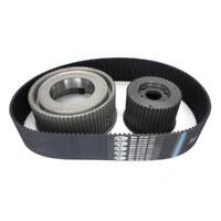 "Belt Drives Ltd. BDL-76-47-3S 3"" Open Belt Drive Kit for Big Twin 55-84"