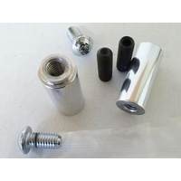 "Belt Drives Ltd. BDL-EV8-SO-2 Hardware Kit & Standoffs Polished for EVO-8S 2"" Open Drives"