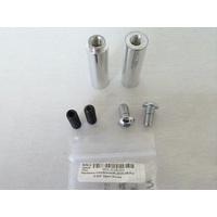 """Belt Drive Limited BDL-EV8-SO Hardware Kit Standoffs for EVO-8S 2-3/4"""" Open Drives Polished"""