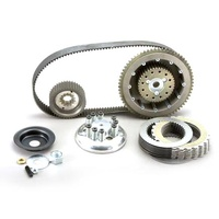 Belt Drives Ltd. BDL-EVB-3T-4 Closed Belt Kit Big Twin'65-83 4 Speed Chain Final Drive Complete w/Clutch