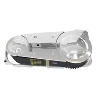 "Belt Drives Ltd. BDL-EVO-10S 3"" Open Primary Belt Drive Kit for Big Twin 70-78 w/Ratchet Lid"