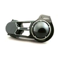 "Belt Drives Ltd. BDL-EVO-8SB 2-3/4"" Open Primary Belt Drive Kit Black for Softail 07-17/Dyna 06-17"
