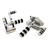 Belt Drives Ltd. BDL-GMA-FC-100-C GMA Forward Controls Chrome Softail 86-99 & Big Twin'36-86 4 Speed