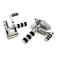 Belt Drives Ltd. BDL-GMA-FC-100-C GMA Standard Length Forward Controls Chrome for Softail 84-99