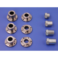 "Belt Drives Ltd. BDL-IN-1000 Open 1"" Offset Primary Special Insert Nut Kit Custom Bobber Chopper"