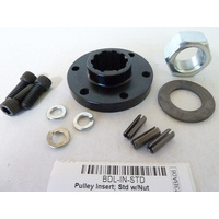 Belt Drives Ltd. BDL-IN-STD Open Standard Primary Special Insert Nut Kit Custom Bobber Chopper