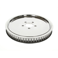 "Belt Drives Ltd. BDL-RPP-65-118 Pulley RR 65T x 1-1/8"" Big Twin' 85-99 Solid Polished Finish"