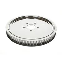 "Belt Drives Ltd. BDL-RPP-65-118 Pulley RR 65T x 1-1/8"" Big Twin' 85-99 Solid Polished Finish"