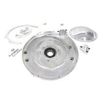 "Belt Drives Ltd. BDL-SHS-600 Shorty 2"" Open Belt Drive Kit for Big Twin 70-78 w/Ratchet Lid/Electric Start"