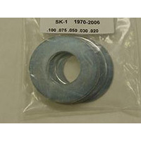 "Belt Drives Ltd. BDL-SK-1 Engine Pulley Shim Kit for Big Twin 70-06 -.020"".030"".050"".075"".100"""