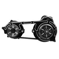 "Belt Drives Ltd. BDL-TC2PS-2B 2"" Open Primary Belt Drive Kit Black for Softail 07-17"