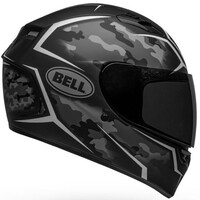 Bell 2020 Qualifier Helmet Stealth Camo Matte Black/White
