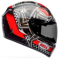 Bell 2020 Qualifier DLX MIPS Helmet IOM Red/Black/White