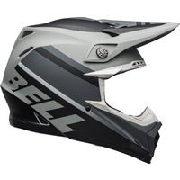 Bell 2020 Moto-9 MIPS Helmet Prophecy Matte Grey/Black/White