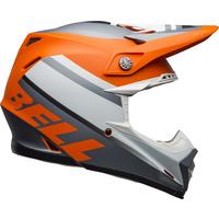 Bell 2020 Moto-9 MIPS Helmet Prophecy Matte Orange/Black/Grey