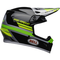 Bell 2020 MX-9 MIPS Helmet Pro Circuit Replica 2020 Black/Green