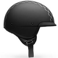 Bell 2020 Scout Air Helmet Check Matte Black/White