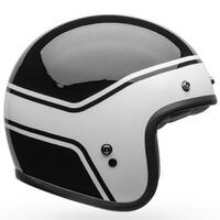 Bell 2020 Custom 500 DLX Helmet Streak Black/White
