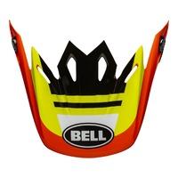 Bell Replacement Peak for Moto-9 MIPS Helmets Prophecy Yellow/Orange/Black