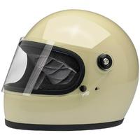 Biltwell Gringo S Helmet Vintage White