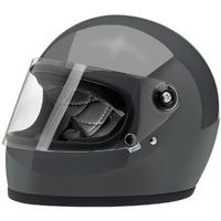 Biltwell Gringo S Helmet Gloss Storm Grey