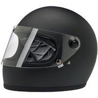 Biltwell Gringo S Helmet Flat Black [Size:SM]